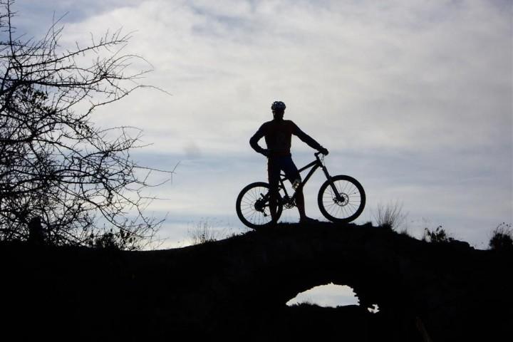 Mountain Bike in Guadalest