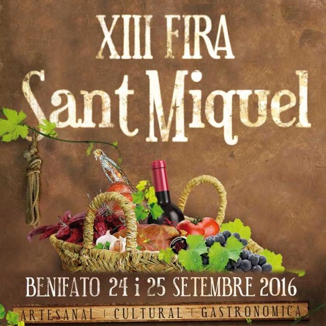 Sant Miquel Fair in Benifato 2015