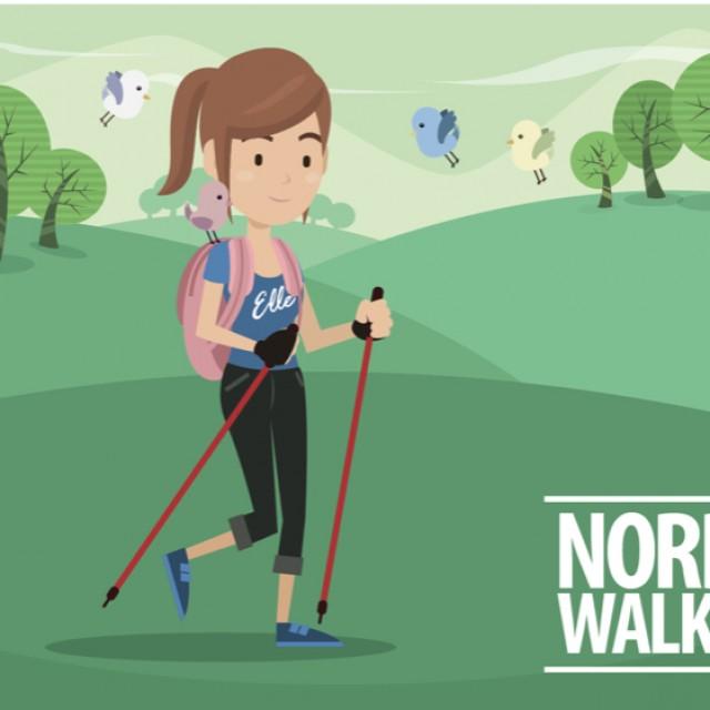 Conoce todos los beneficios del nordic walking