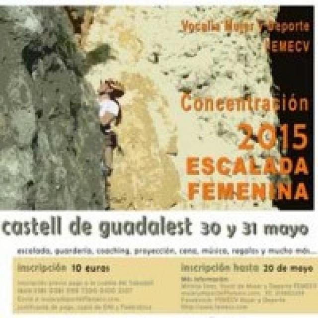 Concentración de Escalada Femenina Guadalest 2015