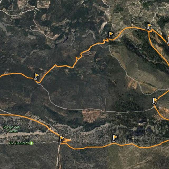 Senderismo en Alicante: Font del Moli - Partagat - Peñon Mulero