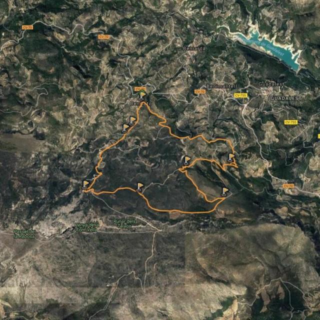 Senderismo en Alicante: Benifato & Benifato