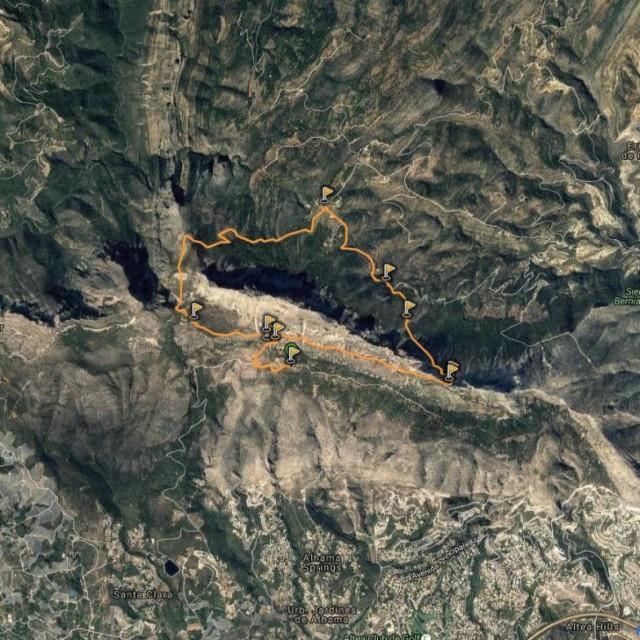 Senderismo en Alicante: Circular a la Sierra de Bernia