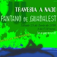 7� Travesia a nada Embalse de Guadalest